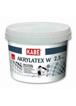 AKRYLATEX  W - Farba lateksowa do ścian i sufitów | 5 l