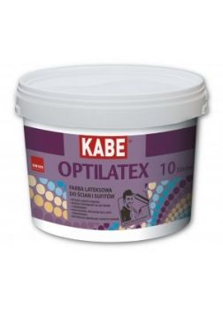 OPTILATEX - Farba lateksowa do ścian i sufitów | 5 l