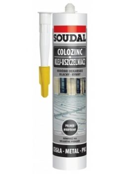 Klej do blach Colozinc Soudal szary