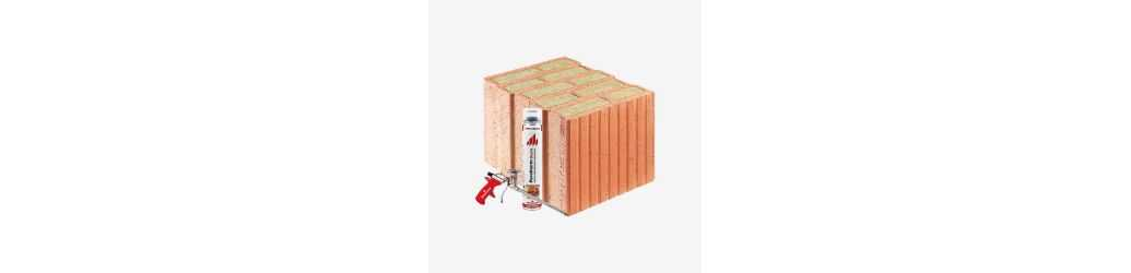 Porotherm T - ceramic blocks with mineral wool