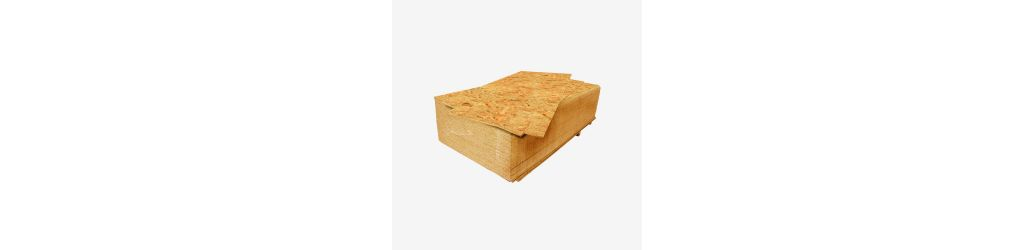 OSB boards - waterproof chipboard